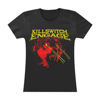 Killswitch Engage Women's  Girls Jr Soft tee Black