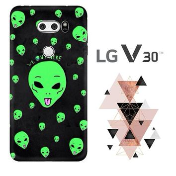 Alien We Out Here X4148 LG V30 Case