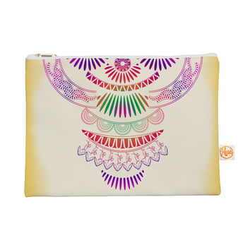 """Famenxt """"Decorative Ornament"""" Yellow Multicolor Everything Bag"""