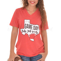 Game Day Tee - Red