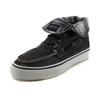 Mens Sperry Top-Sider Bahama Casual Shoe, Black  Journeys Shoes