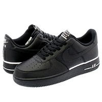 Nike Air Force 1 07 Popular Women Men Leisure Sports Running Shoes Sneakers Black I/A