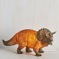 Sight for Saur Eyes Lamp in Triceratops | Mod Retro Vintage Decor Accessories | ModCloth.com