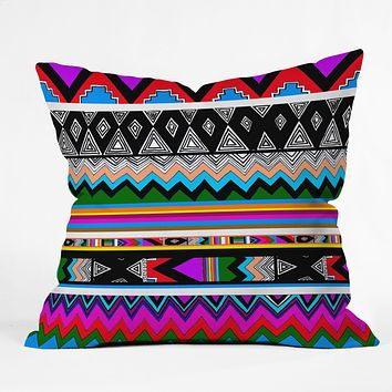 Kris Tate Wipil 4 Throw Pillow