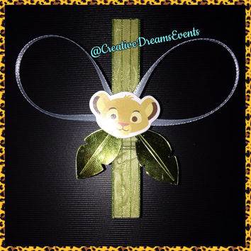 Decorative Clothes Pins Baby Shower Game (Lion King)