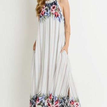 Tropical Breezes Maxi Dress