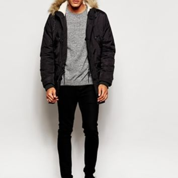 New Look Traditional Parka Jacket