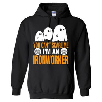 Halloween You Cant Scare Me I Am An Ironworker - Heavy Blend™ Hooded Sweatshirt