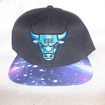 Chicago Bulls Gamma blue  Galaxy snapback