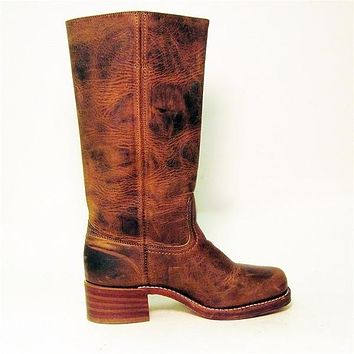 Frye Boot Campus- Brown Knee-high Boot