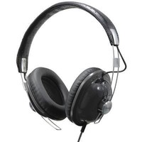 Panasonic RP-HTX7 Stereo Headphones (Black)