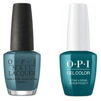 OPI - Gel & Lacquer Combo - Is That a Spear in Your Pocket?