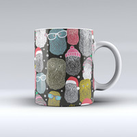 The Spaced Out Owls ink-Fuzed Ceramic Coffee Mug