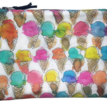 Ice Cream Cone Pouch