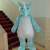 Rhinoceros Mascot Costume,Cosplay Costume,Animal Costumes,Adults Costume,Clothing,Party Costume,Christmas Mascot,Rhinoceros Cosplay Costume