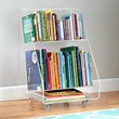Now You See It Clear Acrylic Bookcase / Book Cart