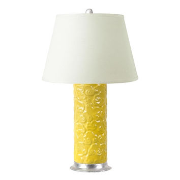 Shangrila Lamp | Yellow by Bungalow 5
