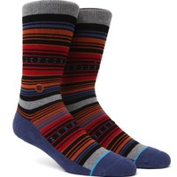 Stance Blanks Crew Socks - Mens Socks - Orange - One