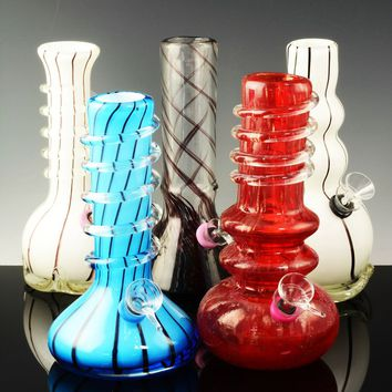 (Mix) Small Soft Glass Water Pipe - WP790