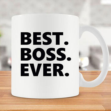 Mug For Boss Gifts For Boss Lady Mug Coffee Cup Boss Coffee Mug Manager Gift Girl Boss Mug Funny Coffee Cup Tea Mug Best Boss Ever - SA527