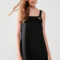 Nice Martin Kendall Grommet Mini Dress | Urban Outfitters