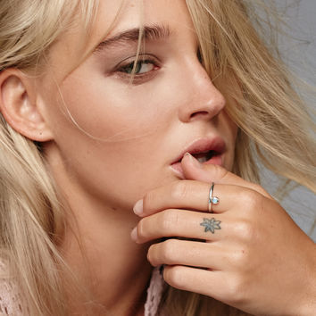 Free People Parallel Opal Ring