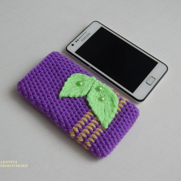 Accessories Electronics, Crochet phone case, Crochet Phone Sleeve, Iphone Case, Iphone Sleeve, Crochet Phone Case for Samsung Calaxy