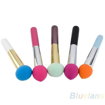 1pc Cosmetic Makeup Brushes Liquid Cream Foundation Sponge Brush [8295206343]