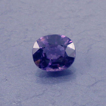 Spinel: 2.01ct Purple Cushion Shape Gemstone, Natural Hand Made Faceted Gem, Loose Precious Mineral, Cut Crystal AAA Jewelry Supply 20013
