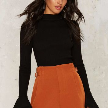 Diane High-Waisted Shorts