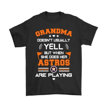 ESB8HB Grandma And Her Houston Astros Are Playing Shirts