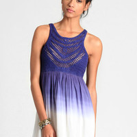 Violet Skies Ombre Dress - $48.00 : ThreadSence, Women's Indie & Bohemian Clothing, Dresses, & Accessories