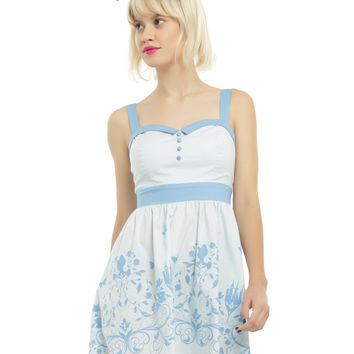 Disney Cinderella Sweetheart Fit & Flare Dress