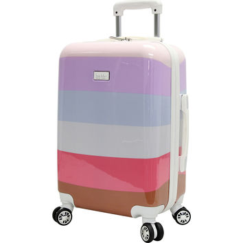 "Nicole Miller NY Luggage Rainbow 24"" Hard Side Spinner - eBags.com"