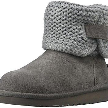 UGG Children's Darrah Knit Boot Big Kids  ugg snow boots