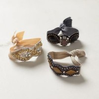 Crystalline Hair Ties by Deepa Gurnani