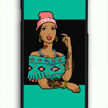 Pocahontas Hipster For iPhone 6/6S Case *