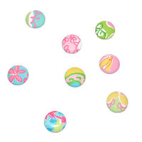 Lilly Pulitzer Fabric Covered Magnets Collectors Edition