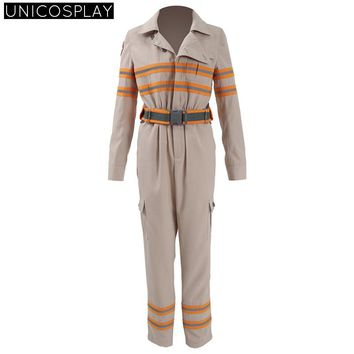 Ghostbusters Jumpsuits Halloween Cosplay Costume Untitled Ghost busters Reboot Uniform Adult Unisex