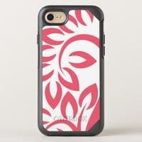 Red Floral OtterBox Symmetry iPhone 8/7 Case
