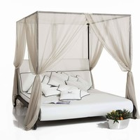 Canopy fabric garden bed Canopo Line by Samuele Mazza Outdoor Collection by DFN | design Samuele Mazza