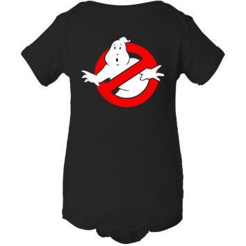 """Ghostbuster Inspired"" Creeper Baby Onesuit"