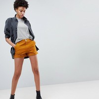 ASOS Canvas Cargo Shorts in Tobacco at asos.com