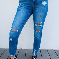 Still Got Time Jeans: Denim