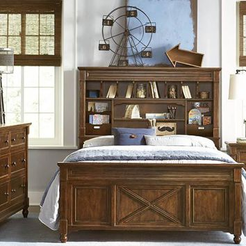 4920 Big Sur - Vista Point Bookcase Bed With Trundle - Twin