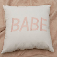Babe Throw Cushion | Urban Outfitters