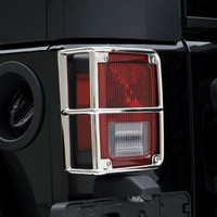 Euro Tail Light Guards 07-Pres Wrangler JK Smittybilt | Southern Off Road