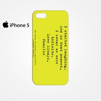 Perks of Being a Wallflower for Iphone 4/4S Iphone 5/5S/5C Iphone 6/6S/6S Plus/6 Plus 3D Phone case