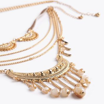 Celestine Necklace Set | Threadsence