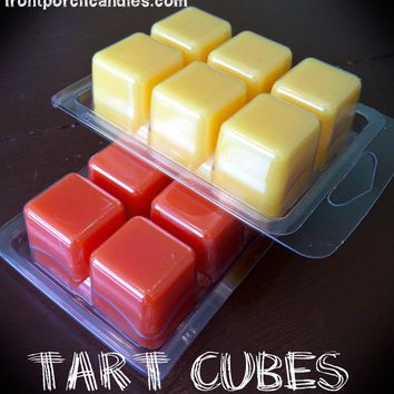 Clamshell Tart Cubes- Quick Order Drop Down List